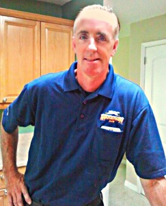 John Ready For Another Day of Working on Commercial Air Conditioners and Refrigerators