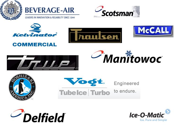 refrigeration brands service true manitowoc scotsman