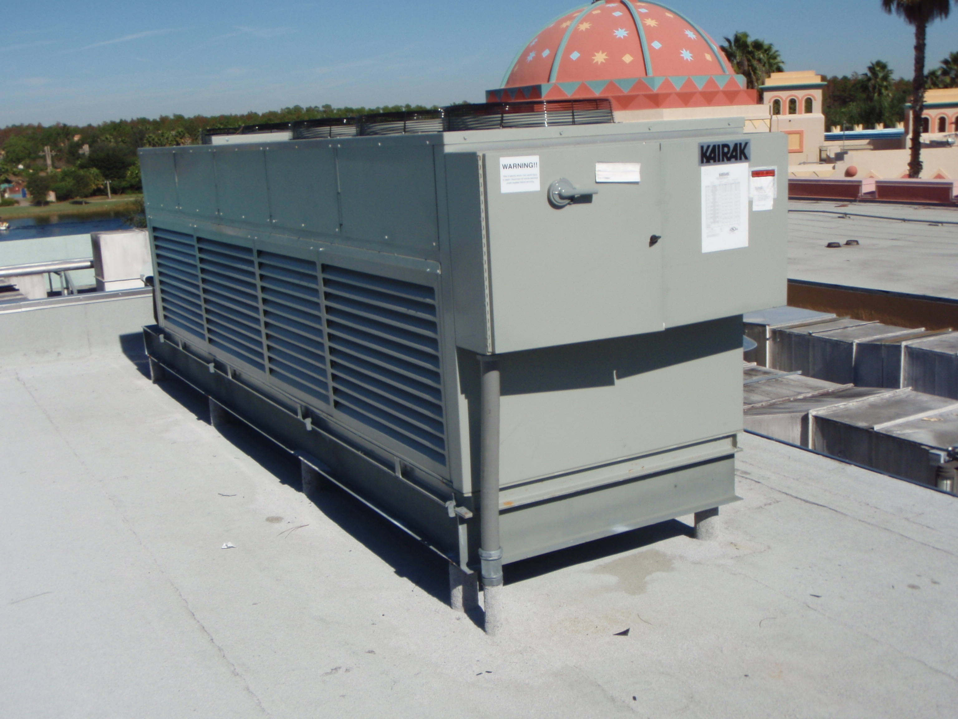 Commercial Air Conditioning Refrigeration Clermont Marathon Air #8F4A3C