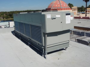 Remote Condenser for Rix Cafe in Disney World