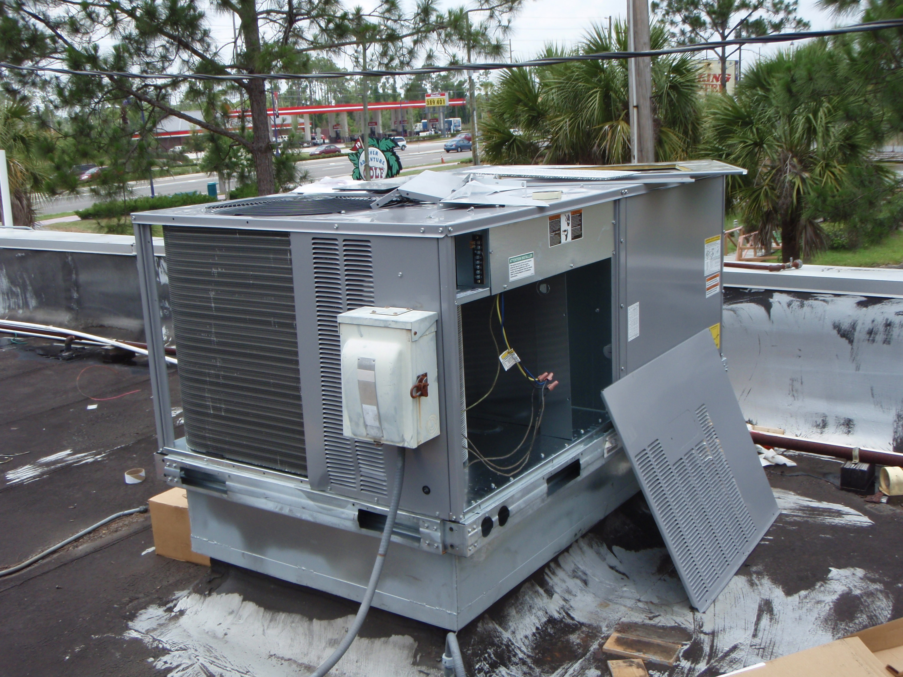 Commercial Air Conditioning and Refrigeration Brands Serviced and Sold  #4C5C3C